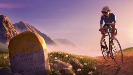 14. Cortometraje de animación sobre el Tour de Francia