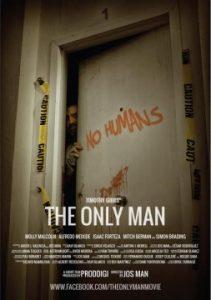 The only man cortometraje cartel poster