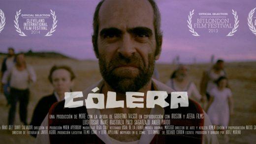 Cólera. Cortometraje español de Artiz Moreno con Luis Tosar