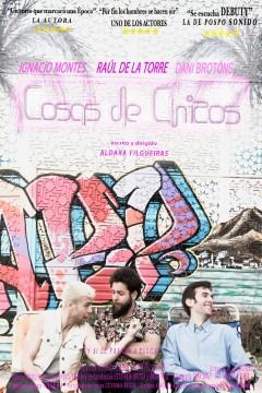 Cosas de chicos cortometraje cartel poster