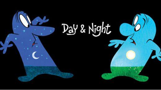 Día y Noche (Day & Night). Cortometraje de animación de Pixar