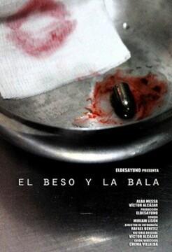 El beso y la bala corto cartel poster