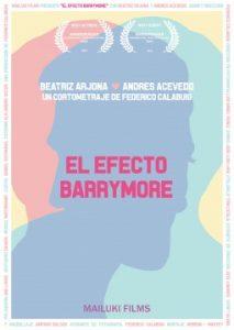 El efecto Barrymore cortometraje cartel poster