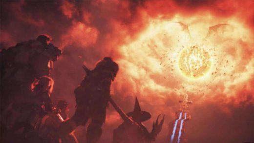 Final Fantasy XIV - Flames of Truth. Videojuego de Square Enix
