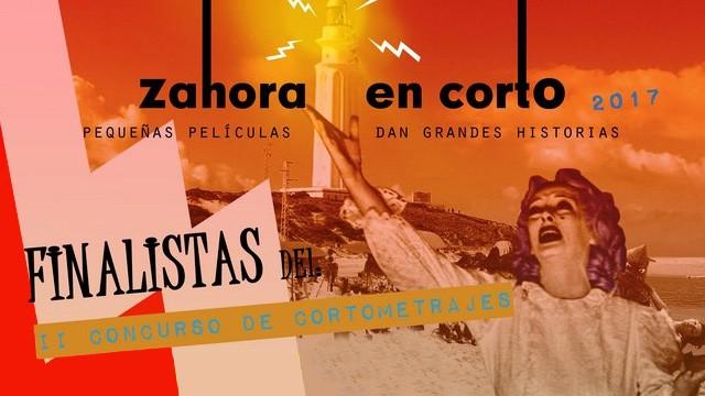 Cortometrajes finalistas de la II edición de Zahora en Corto