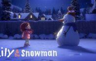 Lily & the Snowman. Cortometraje de animación de Dan Abdo