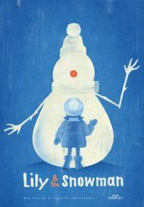 Lily & the Snowman cortometraje cartel poster
