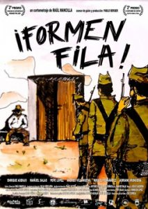 Formen fila cortometraje cartel poster