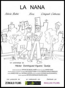 La nana cortometraje cartel poster