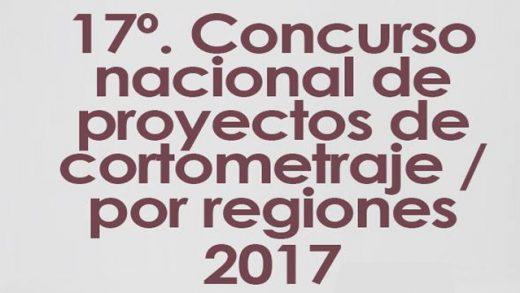 Resultados del 17º Concurso Nacional de Proyectos de Cortometraje