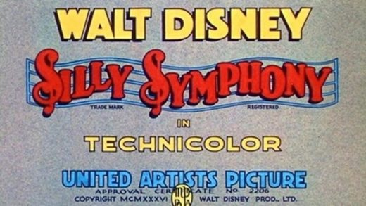 Silly Symphonies. Cortometrajes de la serie animada de Walt Disney