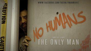 The only man. Cortometraje español de zombies de Jos Man