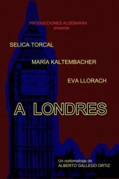 A Londres cortometraje cartel poster
