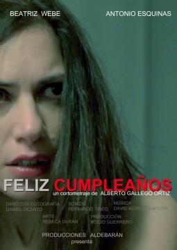 Feliz cumpleaños cortometraje cartel poster