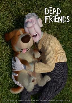 Dead Friends cortometraje cartel poster
