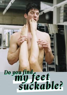 Do You Find My Feet Suckable cortometraje cartel poster