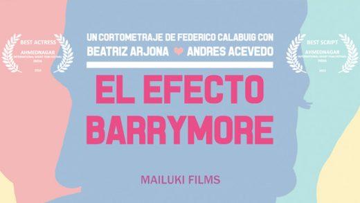 El efecto Barrymore. Cortometraje online con Beatriz Arjona