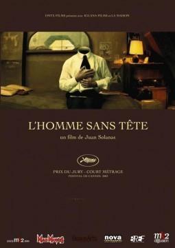 El hombre sin cabeza cortometraje cartel poster