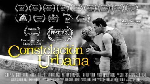Constelación urbana. Cortometraje de Luis Galán con Marian Arahuetes