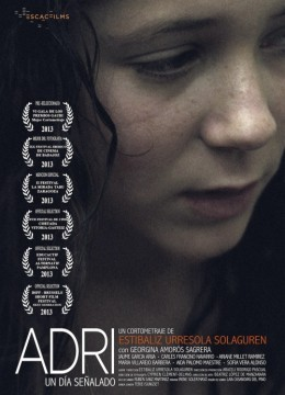 Adri cortometraje cartel poster