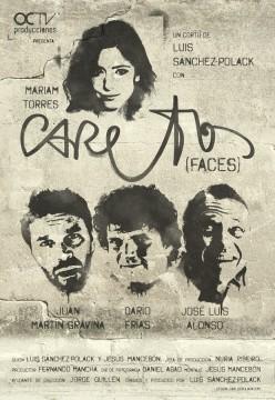 Caretos cortometraje cartel poster