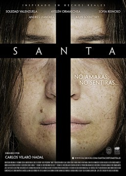 Santa cortometraje cartel poster