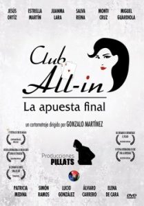 Club All In Apuesta final cortometraje cartel poster