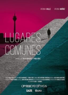Lugares comunes cortometraje cartel poster