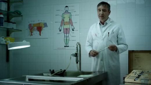 El aprovechamiento industrial de los cadáveres. Cortometraje español