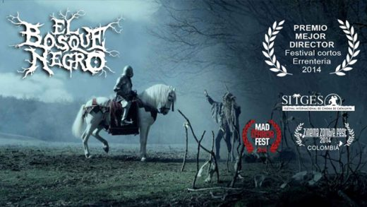 El bosque negro. Cortometraje español Paul Urkijo Alijo con Txema Blasco
