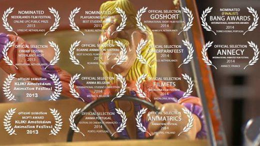 Gracht. Cortometraje holandés de animación stop-motion de Joost de Jong