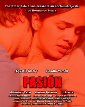Pasión cortometraje cartel poster