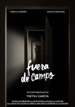 Fuera de campo cortometraje cartel poster