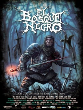El bosque negro cortometraje cartel poster