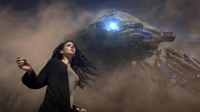 Seam. Cortometraje de ciencia ficción y Robots de Elan y Rajeev Dassani
