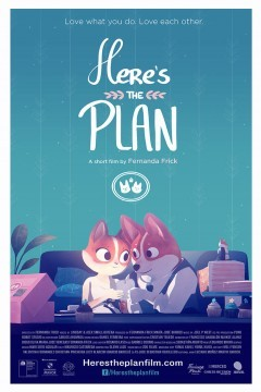 Heres the Plan cortometraje cartel poster