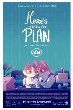 Heres the Plan cortometraje cartel poster