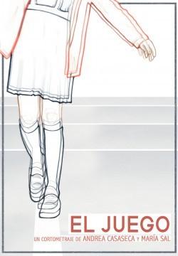 El juego cortometraje cartel poster
