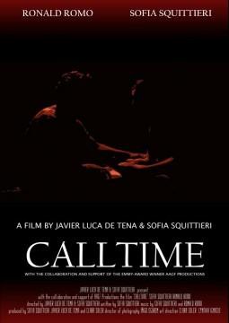 Calltime cortometraje cartel poster