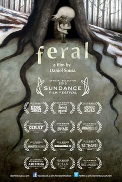 Feral cortometraje cartel poster