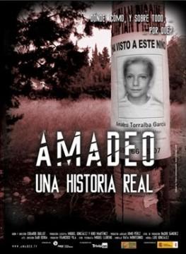 Amadeo, una historia real cortometraje cartel poster