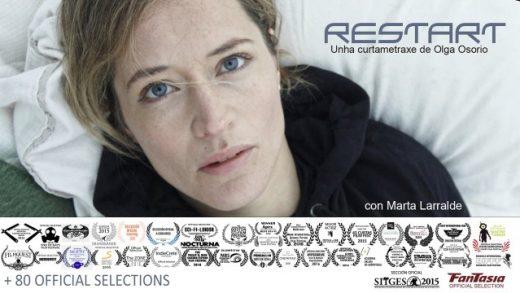 reStart. Cortometraje de ciencia- ficción de Olga Osorio con Marta Larralde