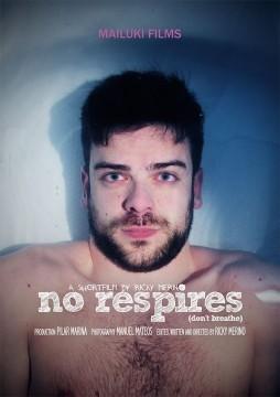 No respires cortometraje cartel poster