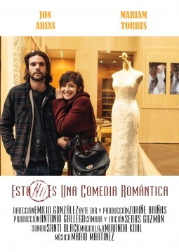 Esto no es una comedia romántica cortometraje cartel poster