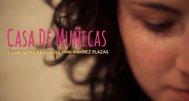 Casa de muñecas cortometraje cartel poster