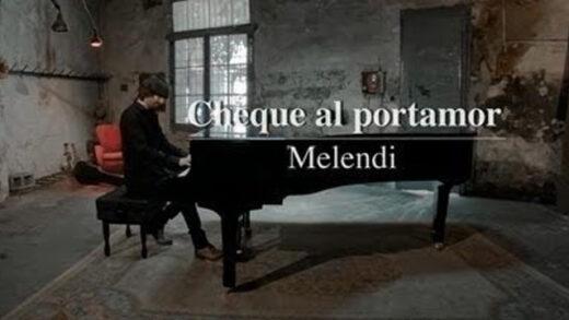 Cheque al portamor - Melendi. Videoclip del artista musical español