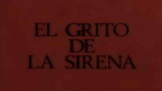 El grito de la sirena. Cortometraje de Jesús del Real con Juanjo Artero