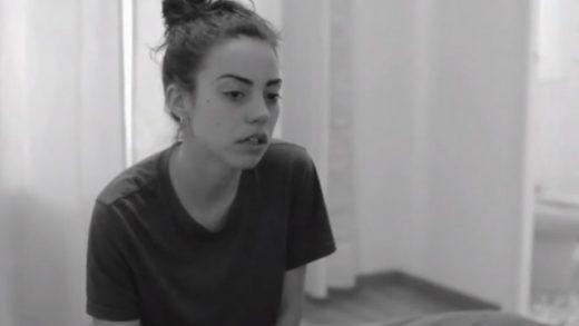El pulpo. Cortometraje español de Álvaro Aranguez con Marta Castellote