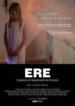 ERE (Expediente de Regulación de Enchufes) cortometraje cartel poster