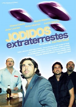 Jodidos extraterrestres cortometraje cartel poster